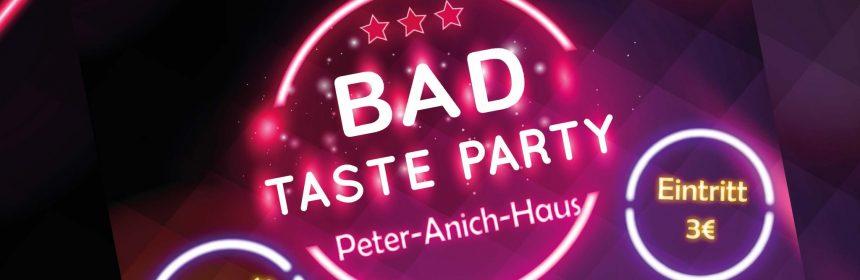 BAD TASTE Party 2016
